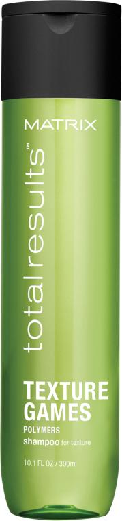 Текстурирующий шампунь для волос - Matrix Total Results Texture Games Shampoo
