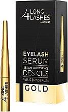 Парфумерія, косметика Сироватка, що стимулює ріст вій - Long4lashes EyeLash Gold Serum