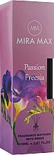 Духи, Парфюмерия, косметика Аромадиффузор - Mira Max Passion Freesia Fragrance Diffuser With Reeds