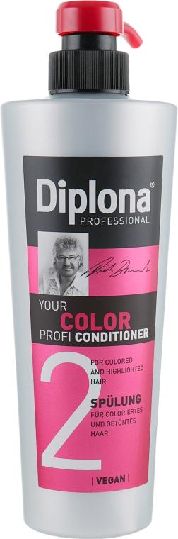 Кондиционер для окрашенных волос - Diplona Professional Your Color Profi Conditioner
