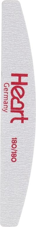 Пилка для ногтей Half Titan 180/180 - Heart Germany