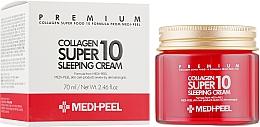 Духи, Парфюмерия, косметика Омолаживающий ночной крем для лица с коллагеном - Medi Peel Collagen Super10 Sleeping Cream