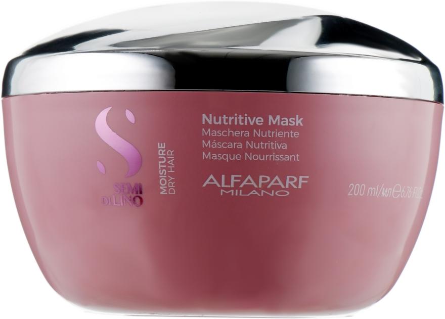 Маска для сухих волос - Alfaparf Milano Semi Di Lino Moisture Nutritive Mask