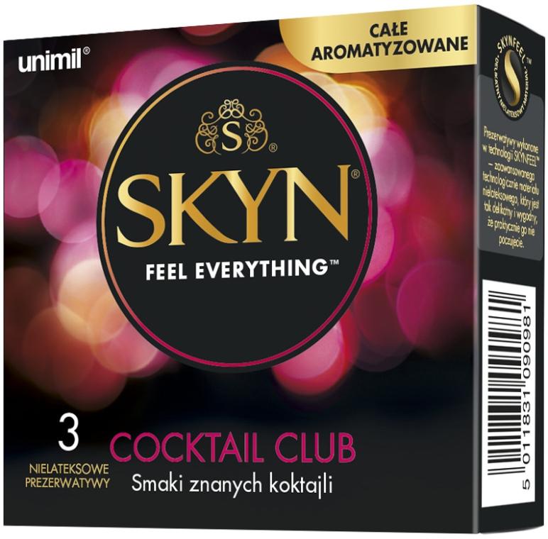 Презервативы, 3 шт. - Unimil Skyn Cocktail Club