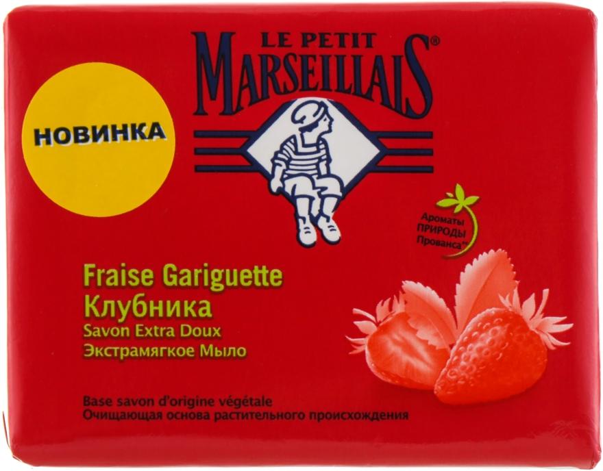 """Мыло """"Клубника"""" - Le Petit Marseillais Soap"""