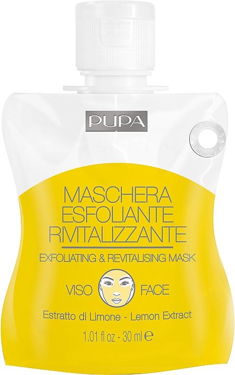 Маска отшелушивающая и восстанавливающая - Pupa Shachet Mask Exfoliating & Revitalizing Mask