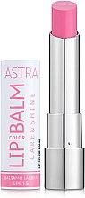 Духи, Парфюмерия, косметика Бальзам для губ - Astra Make-Up Lip Color Balm Care & Shine