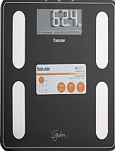 Духи, Парфюмерия, косметика Черные диагностические весы - Beurer BF 400 Signature Line Black
