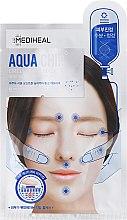 Духи, Парфюмерия, косметика Успокаивающая маска для лица - Mediheal Aqua Chip Circle Point Mask