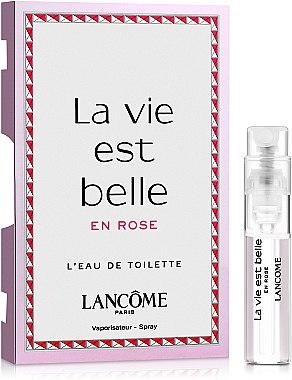 Lancome La Vie Est Belle En Rose - Туалетная вода (пробник)