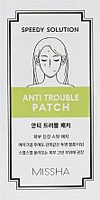 Духи, Парфюмерия, косметика Лечебные патчи для борьбы с акне - Missha Speedy Solution Anti Trouble Patch