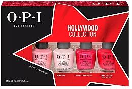 Духи, Парфюмерия, косметика Набор - O.P.I. Hollywood Collection Nail Lacquer Set (lacquer/4x3.75ml)