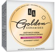 Духи, Парфюмерия, косметика Дневной увлажняющий крем для сухой и нормальной кожи - AA Cosmetics Golden Ceramides Conditioning Anti-Wrinkle Day Cream