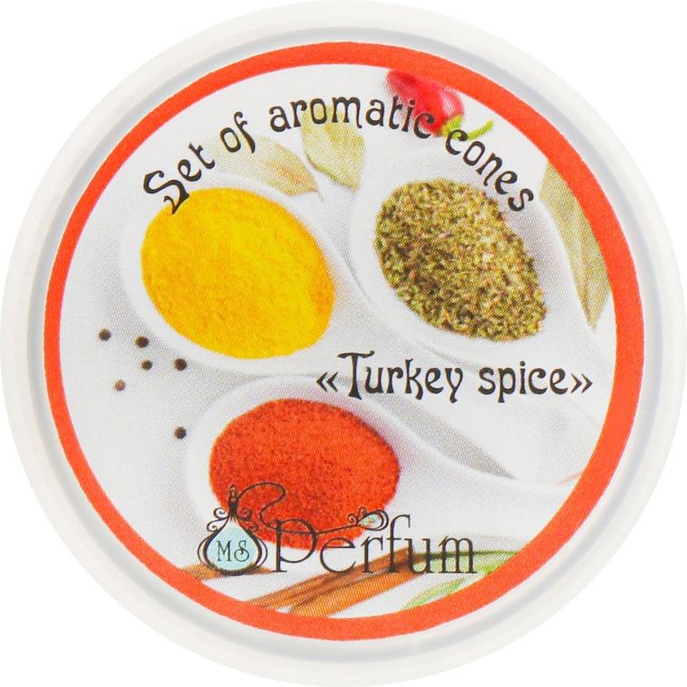 Арома-конусы с ароматом турецких специй - MSPerfum