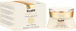 Духи, Парфюмерия, косметика Ночной крем для лица - Klapp Kiwicha Night Cream