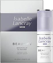 Духи, Парфюмерия, косметика Регенерирующая сыворотка для кожи вокруг глаз - Isabelle Lancray Beaulift Radiant Eye Creamy Serum