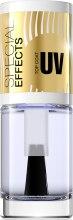 Духи, Парфюмерия, косметика Покрытие для ногтей с ультрафиолетовым эффектом №153 - Eveline Cosmetics Special Effects UV Top Coat