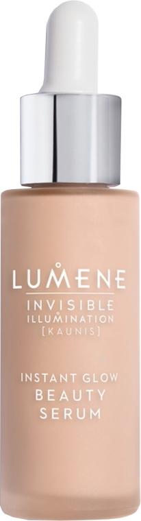 Ухаживающая сыворотка-флюид с тонирующим эффектом - Lumene Invisible Illumination Instant Glow Beauty Serum