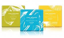 Cinq Mondes Collection Savons Aromatiques - Набор парфюмированного мыла (soap/3 х 80,5 g) — фото N2