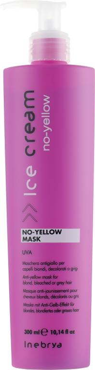Набор - Inebrya No-Yellow Kit (shm/300ml + mask/300ml) — фото N5