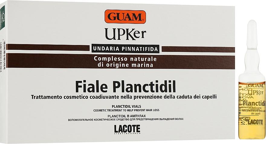 Концентрат в ампулах для предотвращения выпадения волос - Guam UPKer Planctidil Vials