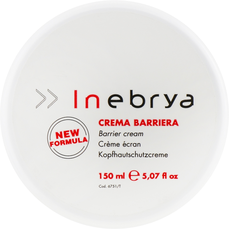 Барьерный крем при окраске волос - Inebrya Barrier Cream