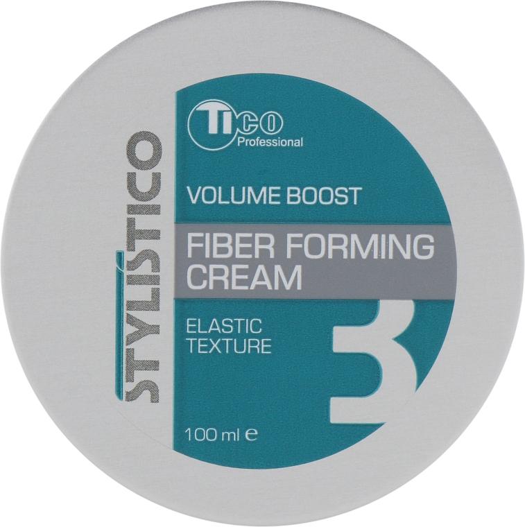 Моделирующая крем-паста для укладки волос - Tico Professional Stylistico Volume Boost Fiber Forming Cream