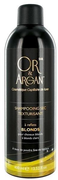 Сухой шампунь для светлых и осветленных волос - Or&Argan Shampooing Sec Blonds