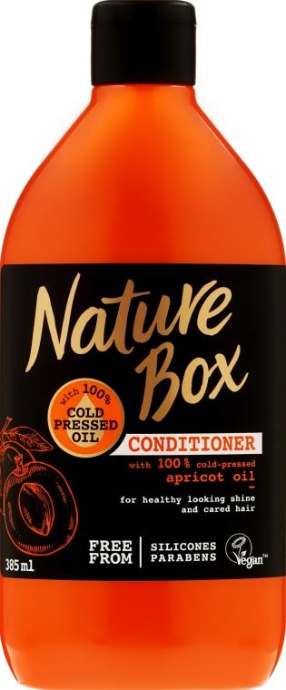 Кондиционер для волос с абрикосовым маслом - Nature Box Apricot Oil Conditioner — фото N1