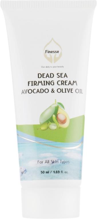 Крем для повышения упругости кожи с маслом авокадо и оливок - Finesse Dead Sea Firming Cream Avocado & Olive Oil Tube