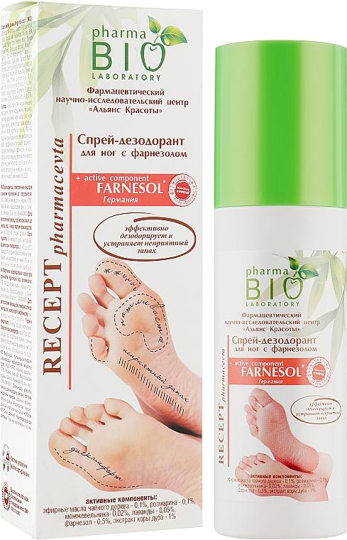 Спрей-дезодорант для ног с фарнезолом - Pharma Bio Laboratory