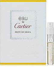 Духи, Парфюмерия, косметика Cartier Eau de Cartier Zeste de Soleil - Туалетная вода (пробник)