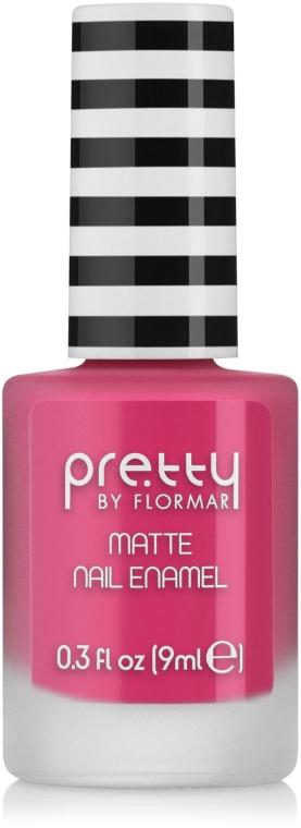 Матовый лак для ногтей - Flormar Pretty Matte Nail Enamel