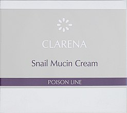 Духи, Парфюмерия, косметика Восстанавливающий крем со слизью улитки - Clarena Poison Line Snail Mucin Cream