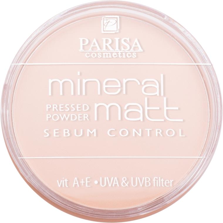 Компактная пудра для лица с минералами - Parisa Cosmetics Mineral Powder