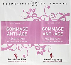 Духи, Парфюмерия, косметика Скраб для лица против старения - Secrets des Fees Regenerating Anti-Ageing Scrub