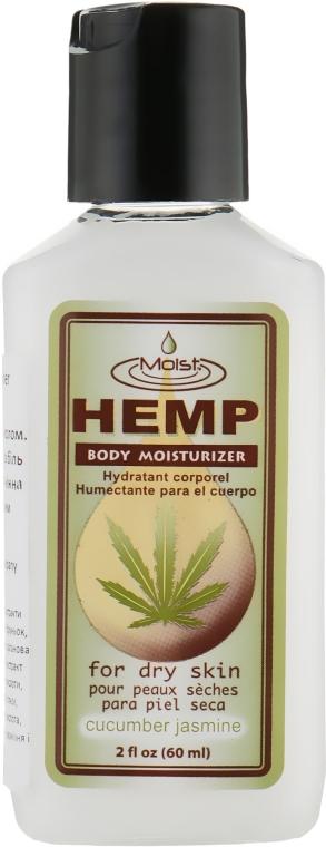Молочко для тела с маслом конопли и экстрактом огурца, супер увлажнение - Malibu Hemp Cucumber Jasmine