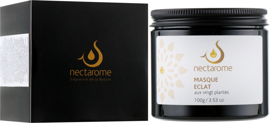 Маска для лица из двадцати трав - Nectarome Masque Eclat