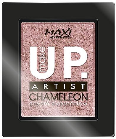 """Кремовые моно-тени для век """"Хамелеон"""" - Maxi Color Make Up Artist Chameleon Cream Eyeshadow"""