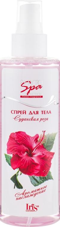 "Спрей для тела ""Суданская роза"" - Iris Cosmetic Phyto Spa Collection Spray — фото N1"