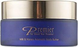 "Духи, Парфюмерия, косметика Ароматическое масло для тела ""Молоко и мед"" - Premier Dead Sea Beaute Milk & Honey Aromatic Body Butter"