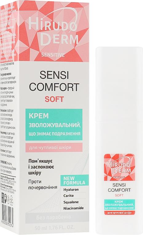 Увлажняющий снимающий раздражение крем - Hirudo Derm Sensi Comfort Soft