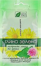 Духи, Парфюмерия, косметика Зеленая глина с экстрактом лопуха и арники - NaturPro