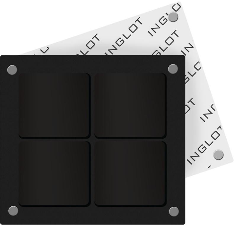 Футляр для косметики квадратный - Inglot Freedom System Square Palette-4
