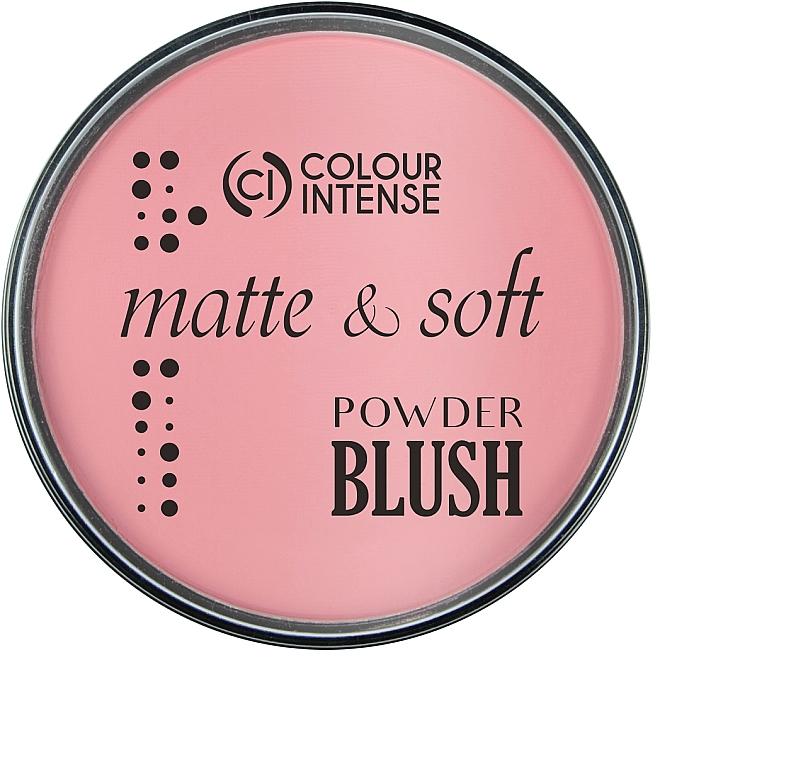 Компактные румяна - Colour Intense Blush Cover Skin