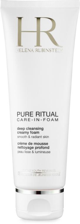 Глубоко очищающая кремовая пенка - Helena Rubinstein Pure Ritual Deep Cleansing Creamy Foam — фото N2