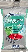 Духи, Парфюмерия, косметика Антибактериальные влажные салфетки - Ultra Compact Antibacterial Wet Wipes