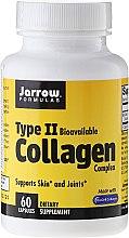 Духи, Парфюмерия, косметика Коллагеновый комплекс 2 типа, 500 мг, 60 капсул - Jarrow Formulas Type II Collagen Complex