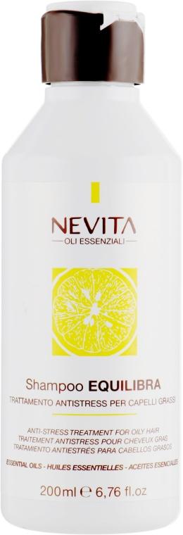 Шампунь для жирных волос - Nevitaly Nevita Equilibra Shampoo
