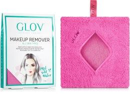 Духи, Парфюмерия, косметика Рукавичка для снятия макияжа, розовая - Glov Comfort Makeup Remover